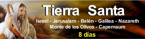 Tierra santa en 8 dias