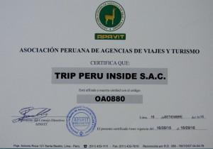 APAVIT TRIP PERU