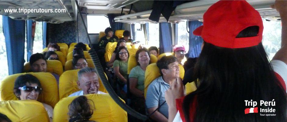 bus ayacucho 2015 con trip peru