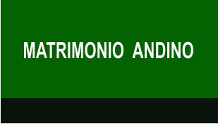 MATRIMONIO  ANDINO