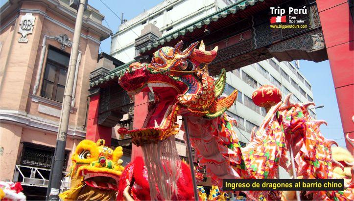 Año Nuevo Chino dragones 1