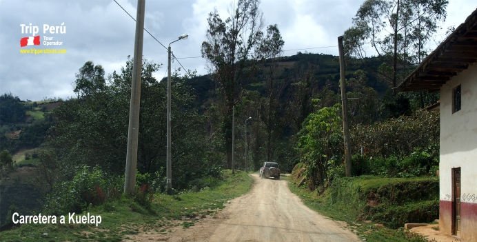 carretera a Kuelap 2