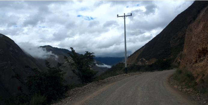 carretera a Kuelap