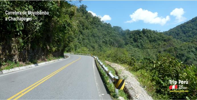 carretera a chachapoyas 2016