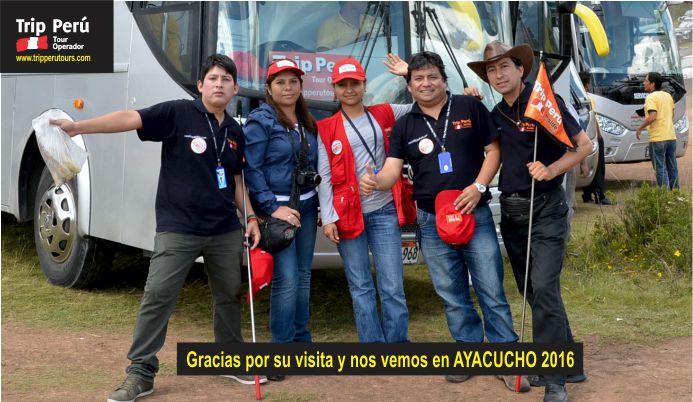 EQUIPO DE TRIP PERU