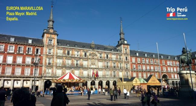 Tour Europa Plaza Mayor Madrid