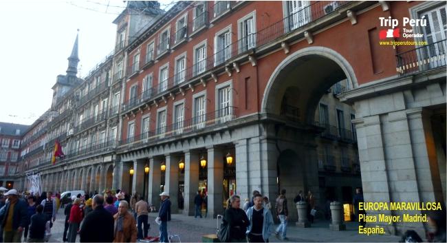 Tour Europa plaza mayor madrid 2