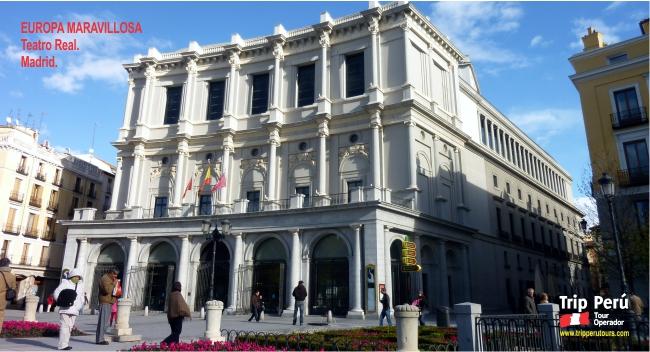 Tour Europa teatro real madrid