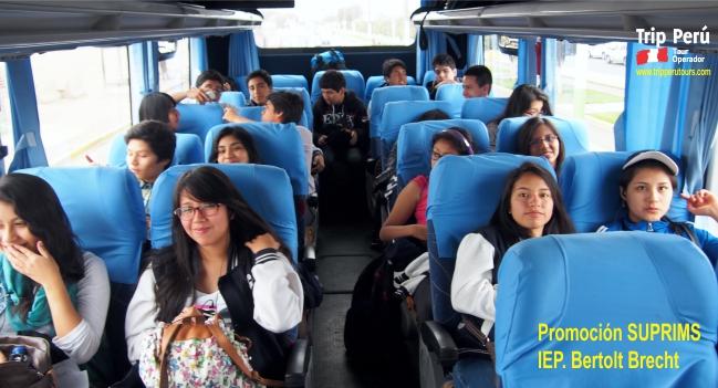 Tour Colegio Bertolt Brecht Norte sin fronteras 2