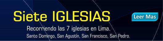 7 iglesias en Lima