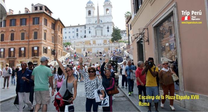 Escalinata Plaza España Roma