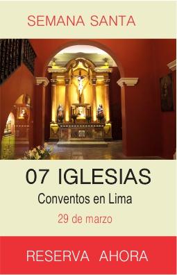 Iglesias y Conventos en Lima