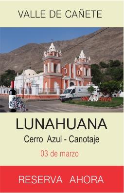 Tour Lunahuana