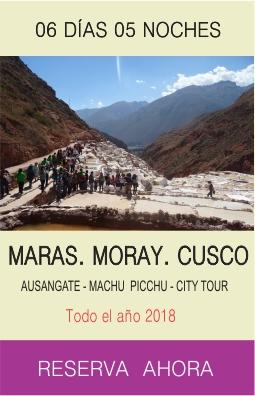 Tour Machu Picchu Maras Moray