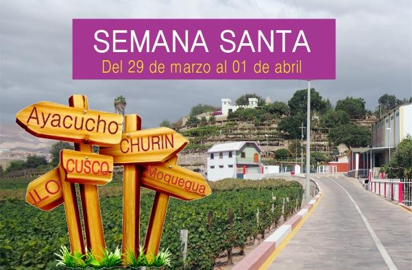Tour Semana Santa en el Peru