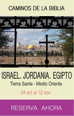 Tour Tierra Santa Medio Oriente
