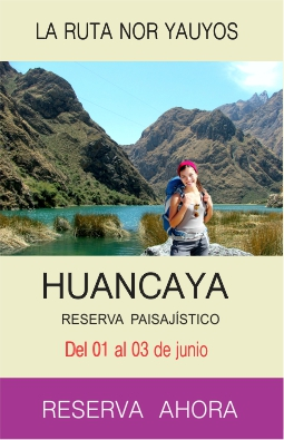 Tour Huancaya