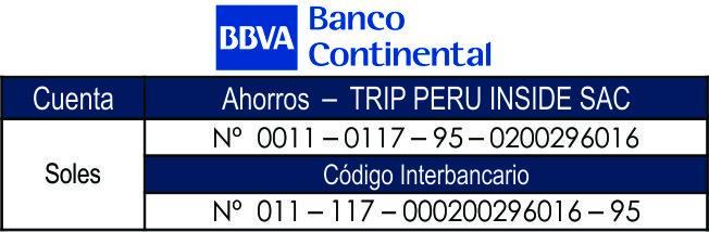 BBVA Trip Peru
