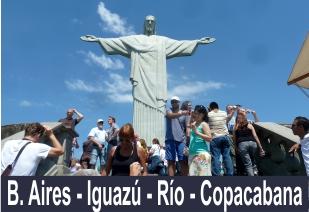 Rio Copacabana Iguazu B Aires