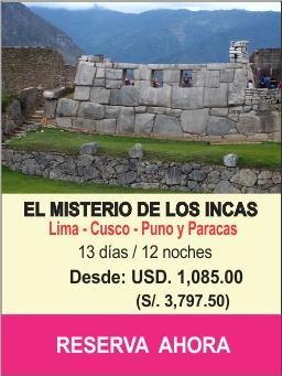 El misterio de los inkas