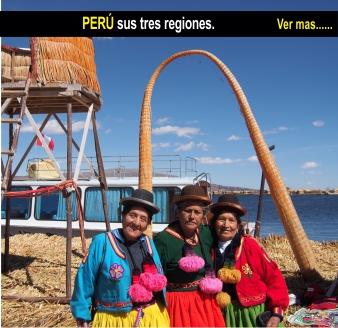Tour Peru y sus 3 regiones
